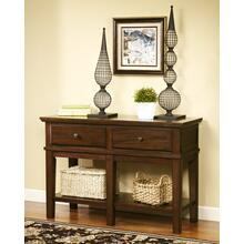 Gately Console Sofa Table Medium Brown