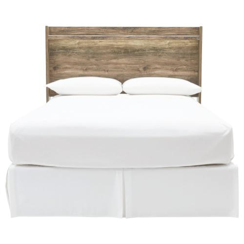 Rusthaven Queen Panel Headboard
