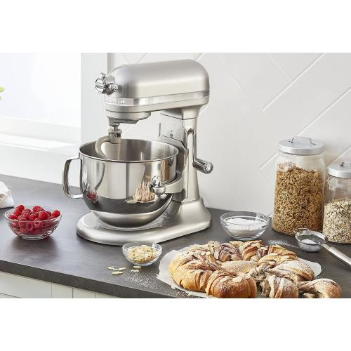 Pro Line® Series 7 Quart Bowl-Lift Stand Mixer - Sugar Pearl Silver