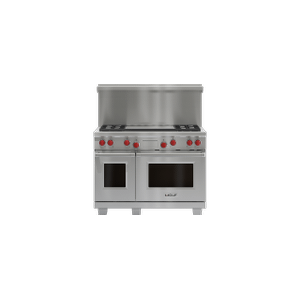 "48"" x 20"" Dual Fuel Range Riser With Shelf"