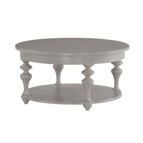 Heirloom Round Coffee Table with Casters