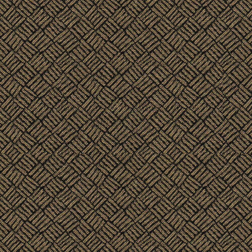 Flash Furniture - 18.5''W Church Chair in Fiji Bamboo Fabric with Book Rack - Gold Vein Frame