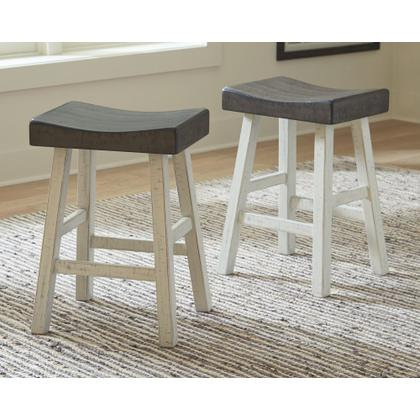 See Details - Glosco Counter Height Bar Stool