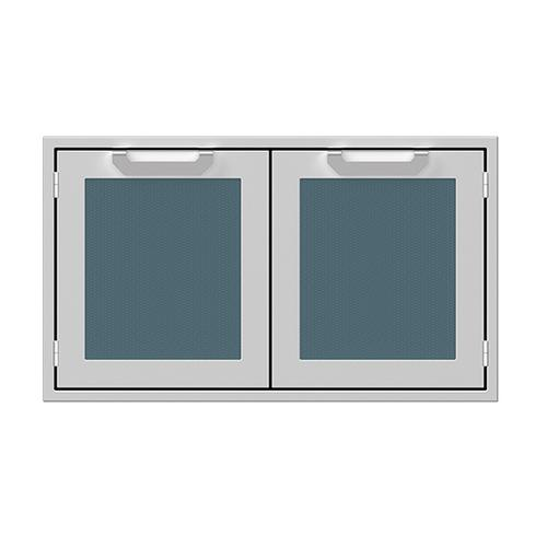 """36"""" Hestan Outdoor Double Sealed Pantry - AGLP Series - Pacific-fog"""