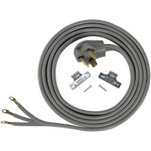3-Wire Eyelet 30-Amp Dryer Cord, 10ft