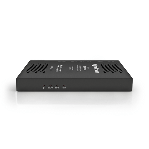 18Gbps 4K HDR HDBaseT Extender with HDCP 2.2 and 2-way PoH (4K: 35m/115ft  1080p: 70m/230ft)