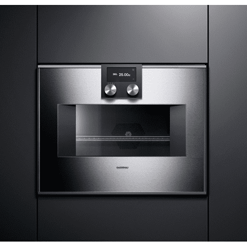 400 series 400 series speed microwave oven Stainless steel-backed full glass door Left-hinged Controls on top