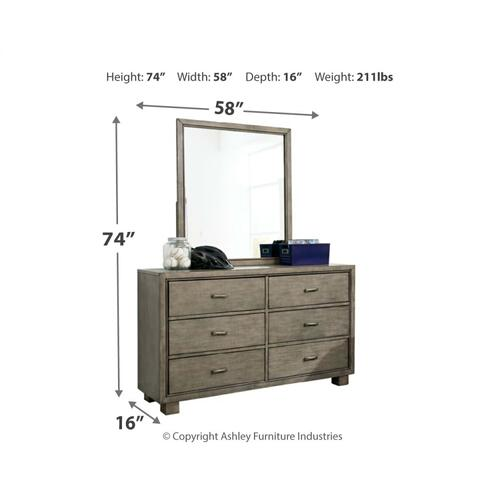Twin Bookcase Bed With Mirrored Dresser, Chest and Nightstand
