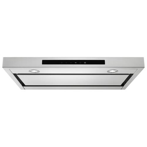 "KitchenAid - 36"" Low Profile Under-Cabinet Ventilation Hood - Stainless Steel"
