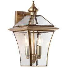See Details - Virginia Double Light Sconce - Brass Lamp