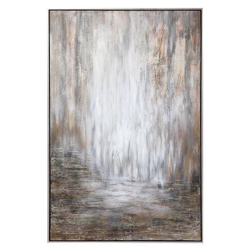 Desert Rain Hand Painted Canvas