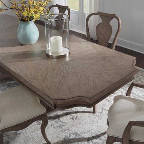 Ella Double Pedestal Table Top