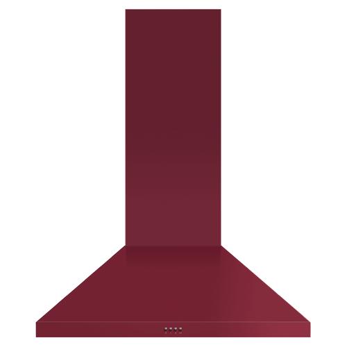 "Fisher & Paykel - Wall Range Hood, 36"", Pyramid Chimney"