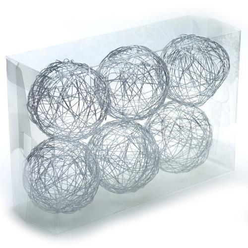 "4"" x 6 pieces Wire Spheres"