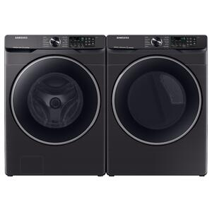 7.5 Cu. Ft. Smart Electric Dryer With Steam Sanitize+ In Brushed Black