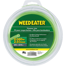 "Weed Eater Trimmer Lines .080"" x 200' Round Trimmer Line"