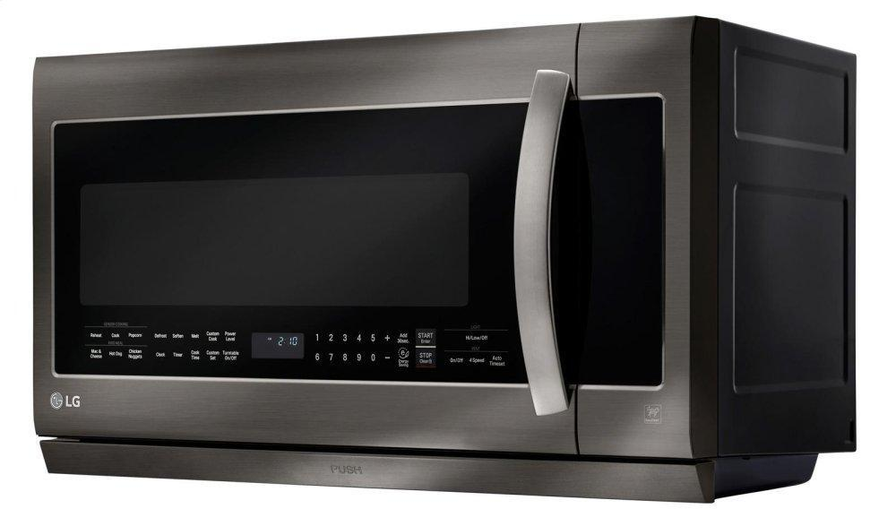 Black Stainless Steel Series 2.2 cu.ft. Over-the-Range Microwave Oven Photo #4