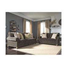 Stracelen Sofa & Loveseat Sable