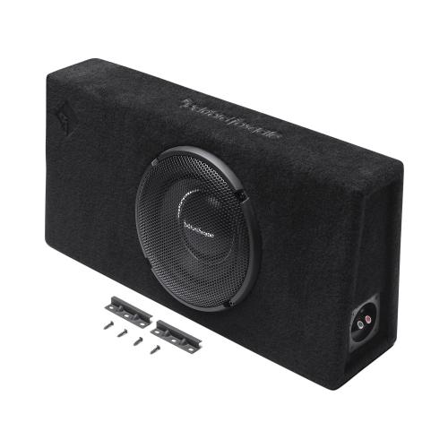 "Rockford Fosgate - Power Single 10"" T1 Slim Sealed Loaded Enclosure"