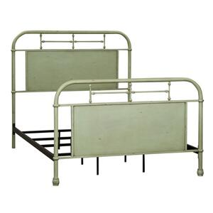 Full Metal Bed - Green