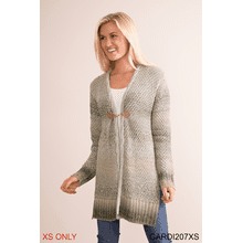 Boulder Creek Cardigan - XS (4 pc. ppk.)