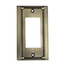 Clickplate in Antique Brass - Single