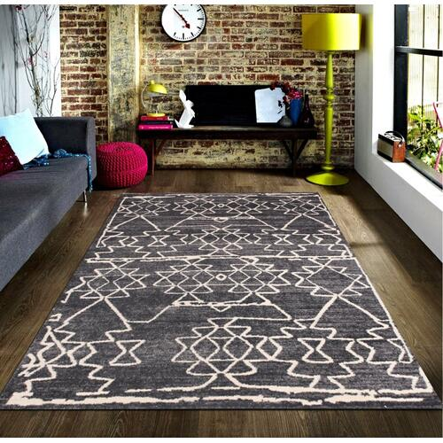 """Power Loomed Soft Toile Design Tara 310 Area Rug by Rug Factory Plus - 5'4"""" x 7'5"""""""