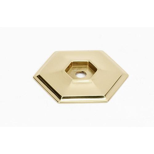 Nicole Backplate A426 - Unlacquered Brass