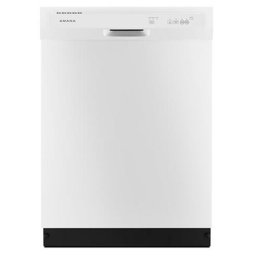 Amana® Dishwasher with Triple Filter Wash System - White