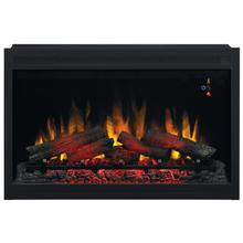 "36"" Traditional Built-In Electric Fireplace Insert, 120 Volt"