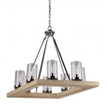 View Product - Canyon Creek 8 Light Authentic Pine Chandelier