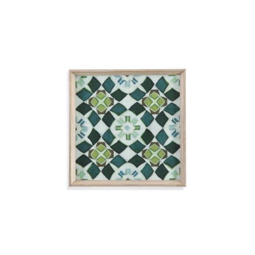 Bassett Mirror Company - Palm Piazza Tile II