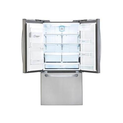 LG - 24.2 cu. ft. French Door Refrigerator
