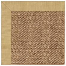 "Islamorada-Herringbone Dupione Bamboo - Rectangle - 24"" x 36"""