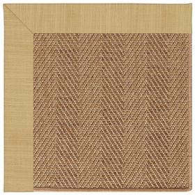 "Islamorada-Herringbone Dupione Bamboo - Rectangle - 24"" x 36"""