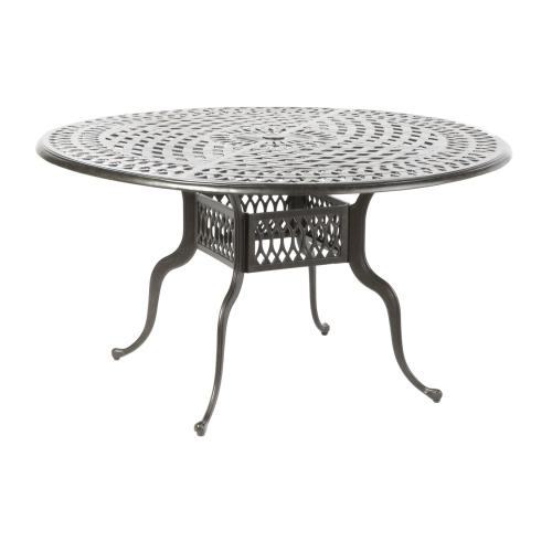 "Porto 54"" Round Dining Table w/ umbrella hole"