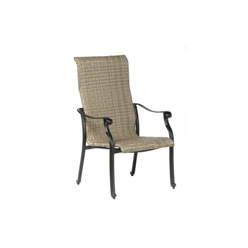 Lisbon Wicker Dining Arm Chair