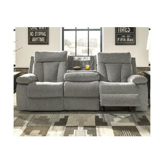 Mitchiner Reclining Sofa w/ Drop Down Table