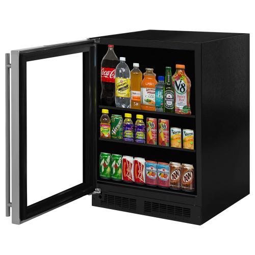 Marvel - 24-In Built-In High-Capacity Beverage Center with Door Swing - Left