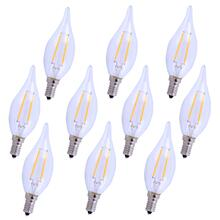 LED E12 CANDELABRA, 5000K, 300 °, CRI80, ES, UL/CUL, 2.5W, 25W EQUIVALENT, 15000HRS, LM165, DIMMABLE, 2 YEARS WARRANTY, INPUT VOLTAGE 120V 10 PACK