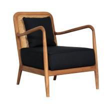 Alora Occasional Chair, Teak/Rattan Cane 27x28x31,5