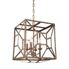 Marquelle Lantern Distressed Goldleaf