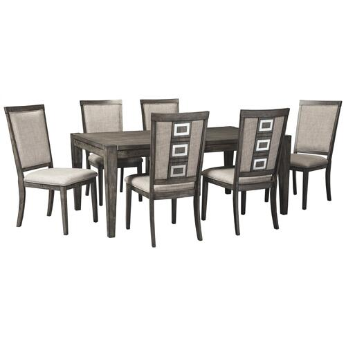 Ashley - 7-piece Dining Room Package