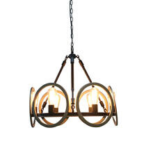 6-Light Chandelier in Oil Rubbed Bronze Finish