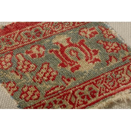 0350820004 Vintage Rug Fragment Wall Art