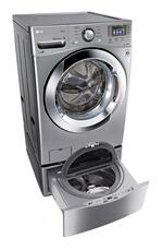 LG WM3370HVA Laundry Front Load Washer 4.3 cu. ft. Ultra-Large Capacity with Steam Technology