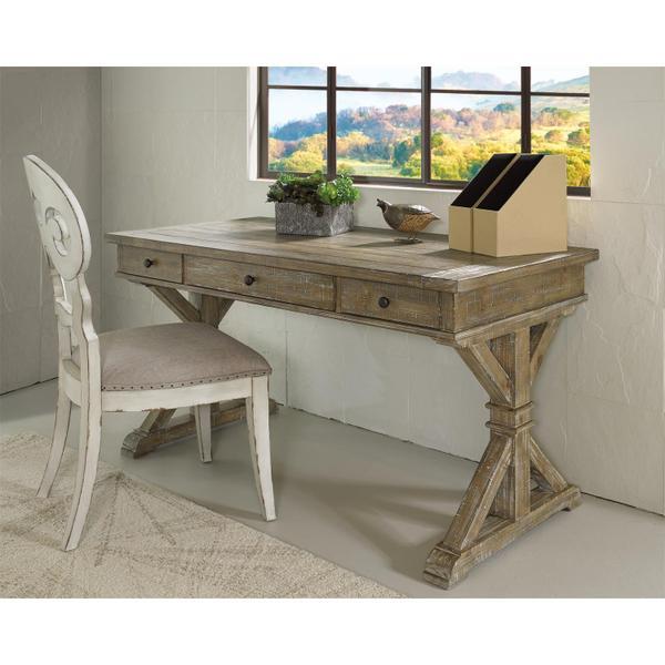 See Details - Sonora - Writing Desk - Snowy Desert Finish
