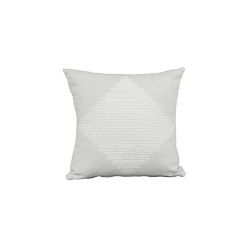 "Smolder Marble 18"" x 18"" Pillow"