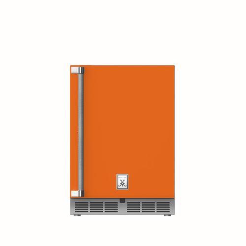 """24"""" Hestan Outdoor Undercounter Refrigerator (Solid Door) - GRSR Series - Citra"""
