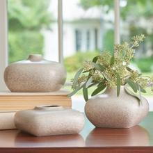 Modernist Vase-Mist-Med